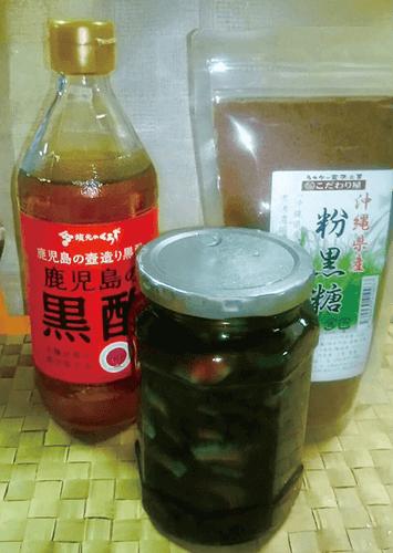 鹿児島の壷作り黒酢